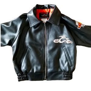 Orange County Choppers faux leather jacket